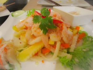 Prawn and Green Mango Salad